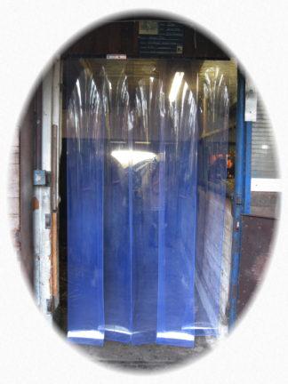Jehapro® PVC Lamellenvorhang mit 30 cm breiten Lamellen