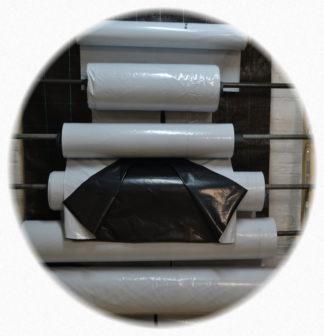 Silofolie schwarz/weiß 150 µm stark